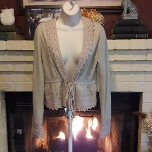 Anthropologie Guinevere Cardigan Med